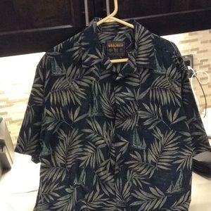 Hawaiian wool rich shirt